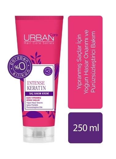 Urban Care Yoğunlaştırılmış Keratin İçeren Onarıcı & Pürüzsüzleştirici Saç Kremi 250 Ml Renksiz